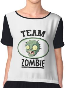 Team Zombie Chiffon Top
