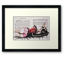 Cheeky Curves Framed Print