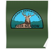 Deer Meadow Sheriff Department Poster