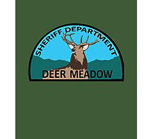 Deer Meadow Sheriff Department Photographic Print