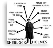 The Anatomy of Sherlock Holmes Canvas Print