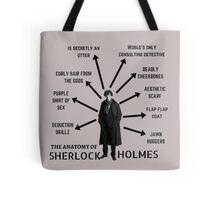 The Anatomy of Sherlock Holmes Tote Bag