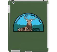 Deer Meadow Sheriff Department iPad Case/Skin