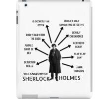 The Anatomy of Sherlock Holmes iPad Case/Skin