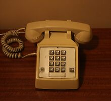 Vintage Retro Telephone by stine1