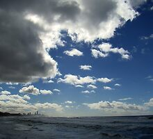 Stormclouds At Burleigh by davidandmandy