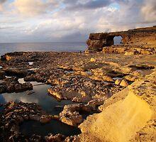 Coastline Of Gozo by davidandmandy
