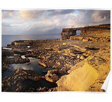 Coastline Of Gozo Poster