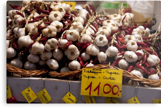 Cloves Of Garlic by phil decocco
