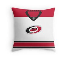 Carolina Hurricanes Away Jersey Throw Pillow