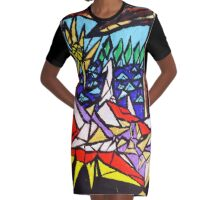 Lovers  Graphic T-Shirt Dress