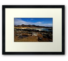 Afternoon at Sanna Bay Framed Print