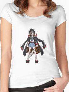 Fight Club President, Mankanshoku Mako! Women's Fitted Scoop T-Shirt