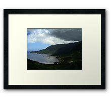 Fagaloa Bay Framed Print