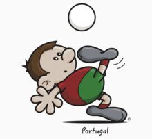 2014 World Cup T-Shirts - Portugal by spaghettiarts