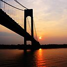 Verrazano Bridge at Dawn by Susan Savad