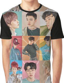 E )( O Graphic T-Shirt