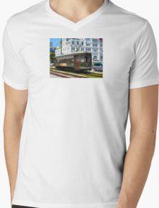 New Orleans Streetcar Mens V-Neck T-Shirt