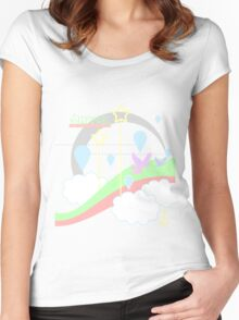 Surreal Women's Fitted Scoop T-Shirt