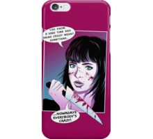 Pop Art Horror Show iPhone Case/Skin