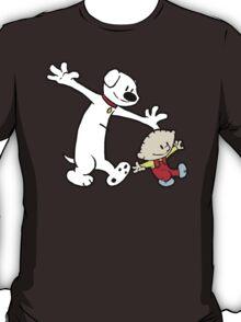 Stewie and Brian (C & H) T-Shirt