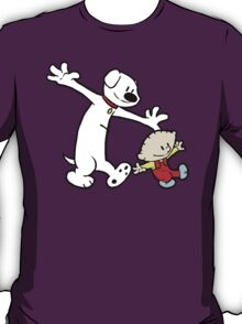 Stewie and Brian (C & H) T-Shirt