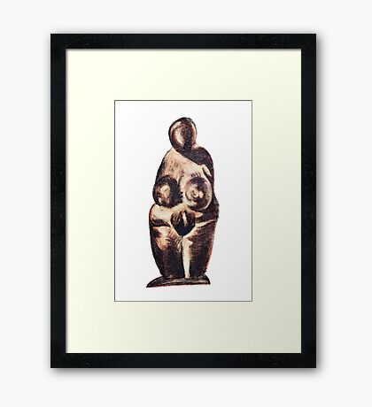 primeval Venus Framed Print