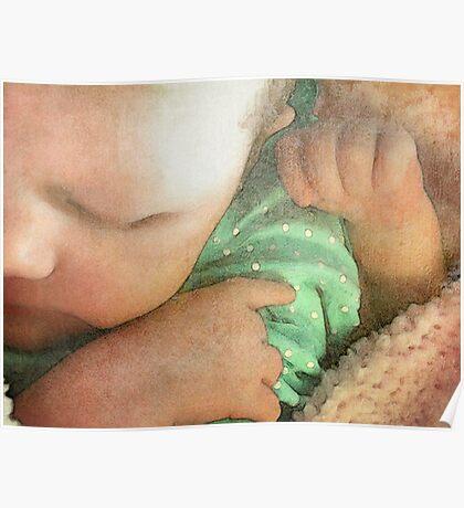 Sleeping Baby Poster