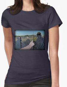 Reflecting The Past Womens Fitted T-Shirt