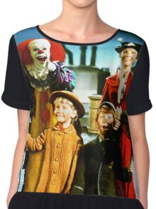 PENNYWISE IN MARY POPPINS Chiffon Top