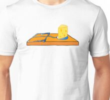 mousetrap with cheese Unisex T-Shirt
