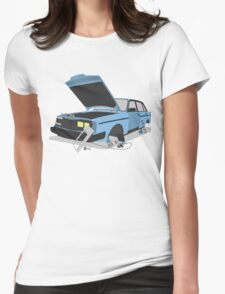 Pick and pull Womens Fitted T-Shirt