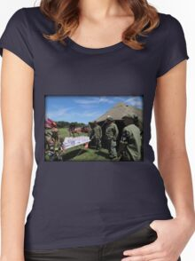 Dogs Of War Women's Fitted Scoop T-Shirt