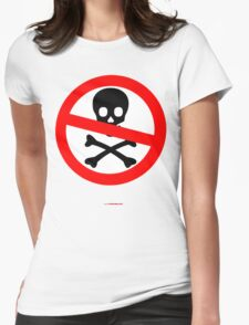 No Pirates T-shirt Design Womens Fitted T-Shirt