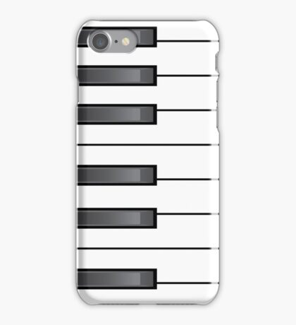 Musical piano keys iPhone Case/Skin