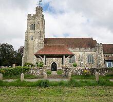 Harrietsham Church, Kent by Sue Martin