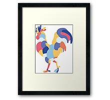 Coq  Framed Print