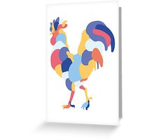 Coq  Greeting Card
