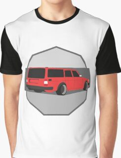 245 Hauler red Graphic T-Shirt