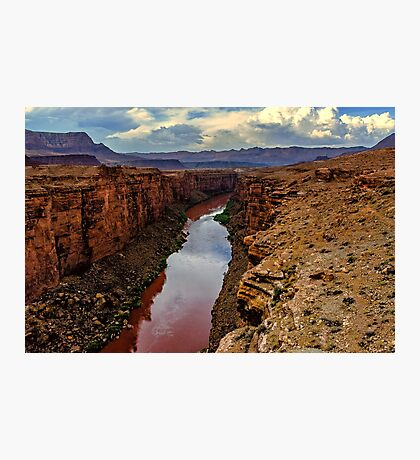 Red River Photographic Print