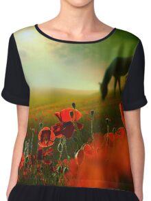 Red Meadow Women's Chiffon Top