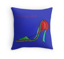 Pointy Shoe Throw Pillow