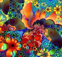 Flower Garden  by Brian Exton