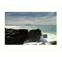 Queensland Cliffs Art Print