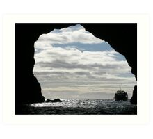 New Zealand Seascape Art Print