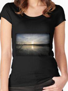April Minsi Setting Women's Fitted Scoop T-Shirt