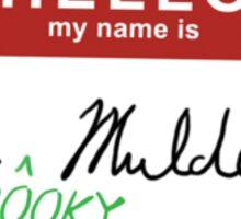 Spooky Mulder. Sticker