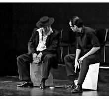 Playing The Cajon Photographic Print