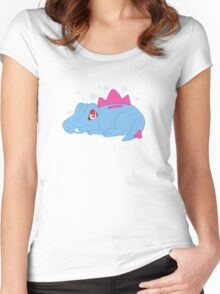 Totodile Women's Fitted Scoop T-Shirt