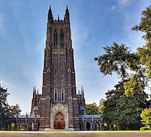 The Gothic Cathedral of Duke University by Kadwell